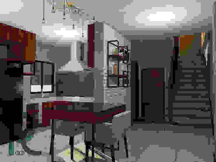 Loft 'Ban Ban': บ้านนอก  โดย PC Concept, ชนบทฝรั่ง