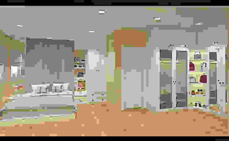 bedroom + wardrobe Oleh DARI Klasik