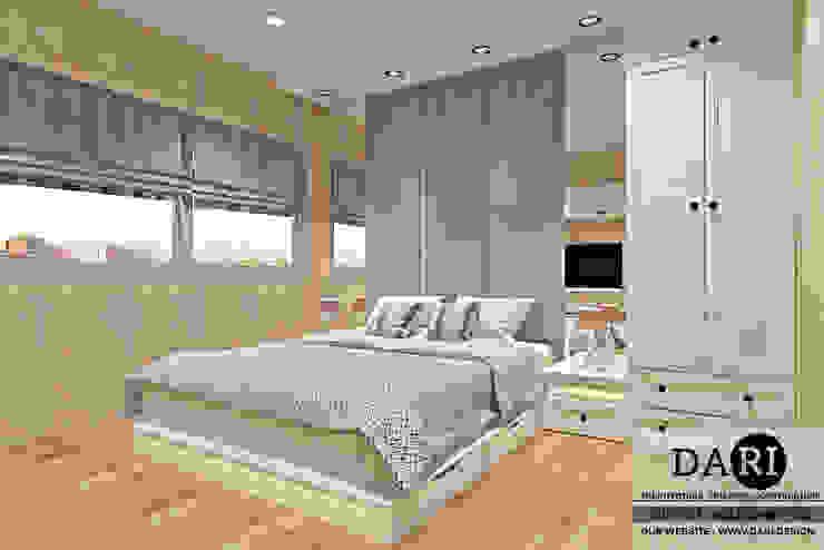 bedroom backdrop + bed Oleh DARI Klasik