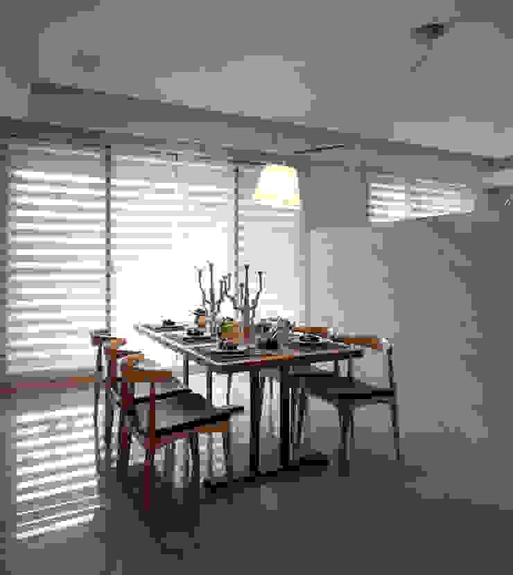 名人雅仕 Modern dining room by 北歐制作室內設計 Modern