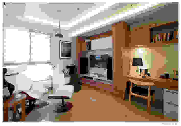 名人雅仕 Modern style study/office by 北歐制作室內設計 Modern