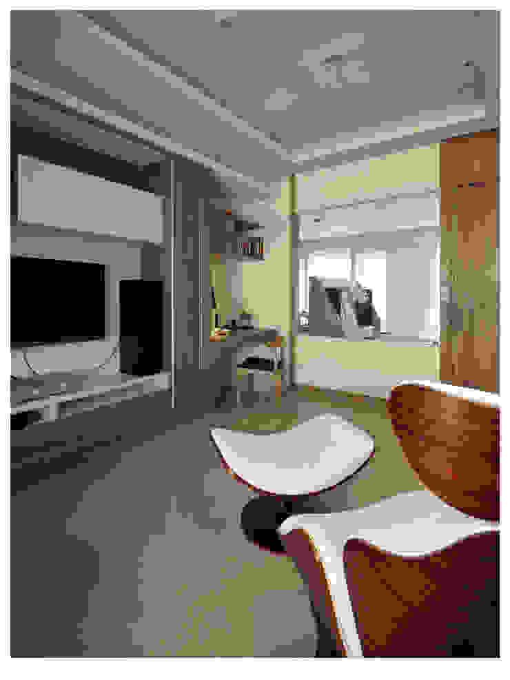 Modern style study/office by 北歐制作室內設計 Modern