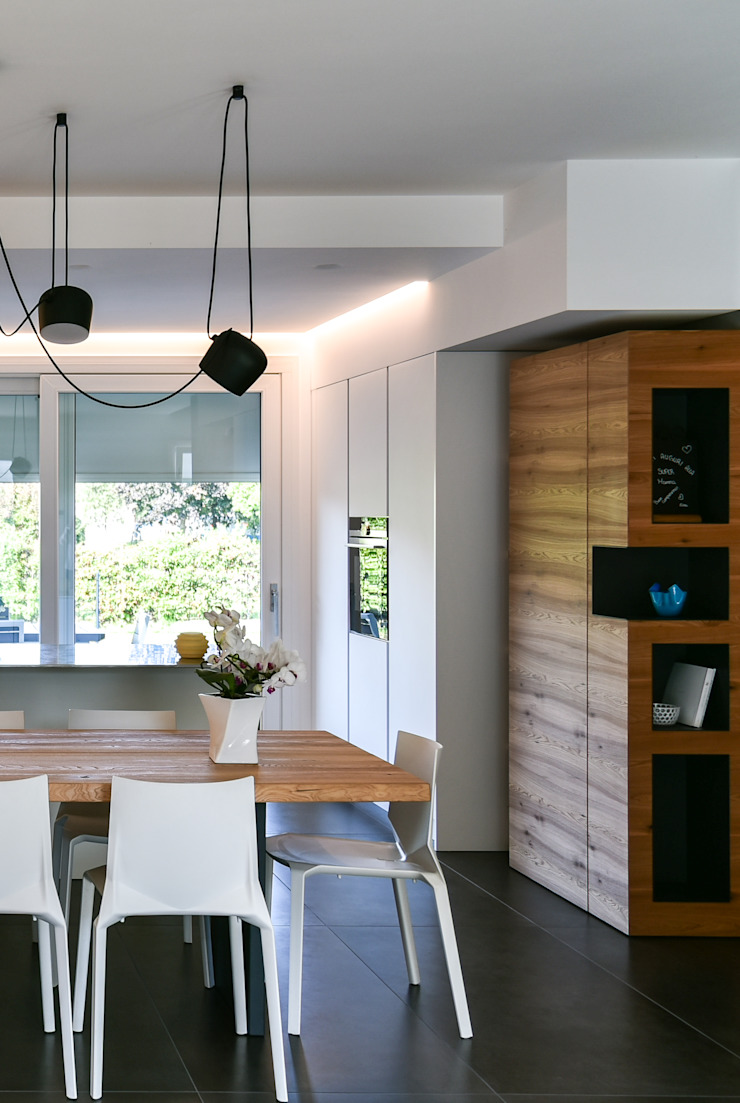 Moderne keukens van Claude Petarlin Modern Hout Hout
