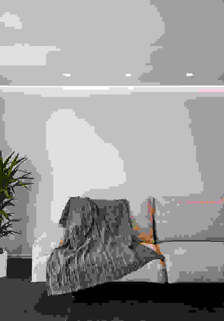 Moderne woonkamers van Claude Petarlin Modern Tegels