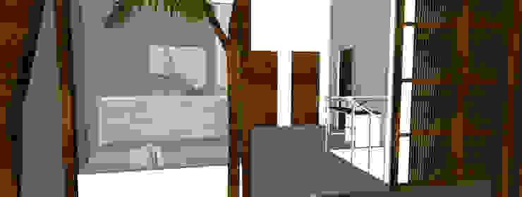 Karawaci Home Balkon, Beranda & Teras Minimalis Oleh Sanny Yuwono Minimalis