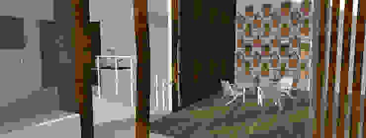 Balcones y terrazas minimalistas de Sanny Yuwono Minimalista