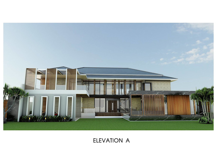 บ้านคุณบัณฑิตย์ โดย WYNN ARCHITECT