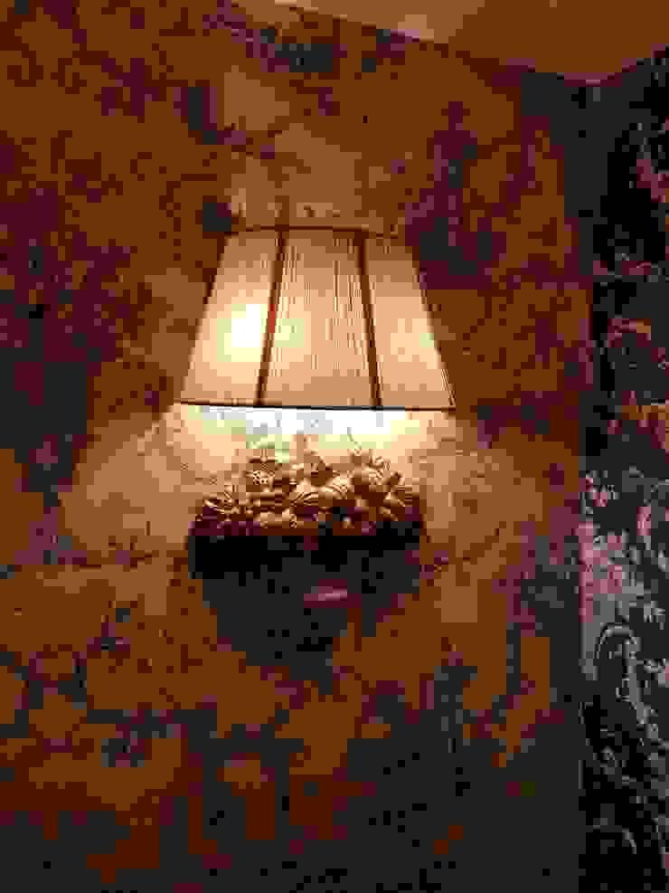 樓梯玄關壁燈CH-63841:  國家  by 建鍾產業股份有限公司, 鄉村風 布織品 Amber/Gold