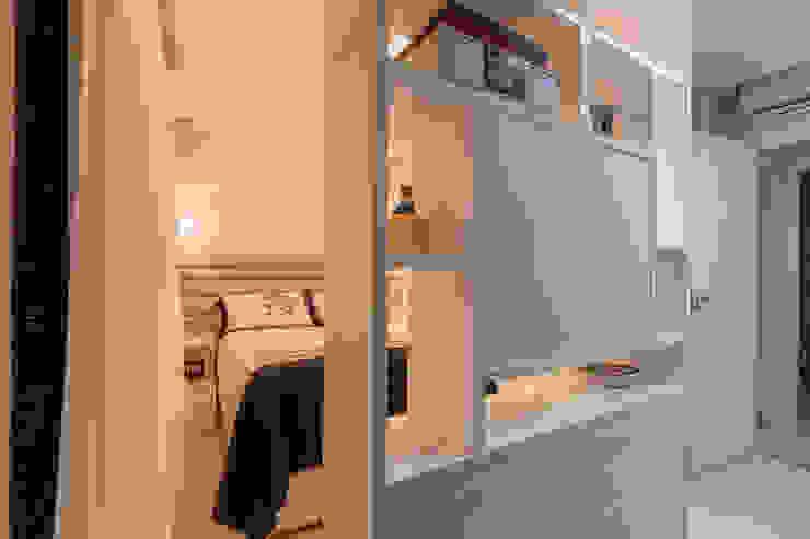 DM ARQUITETURA E ENGENHARIA Eclectic style bedroom MDF Beige