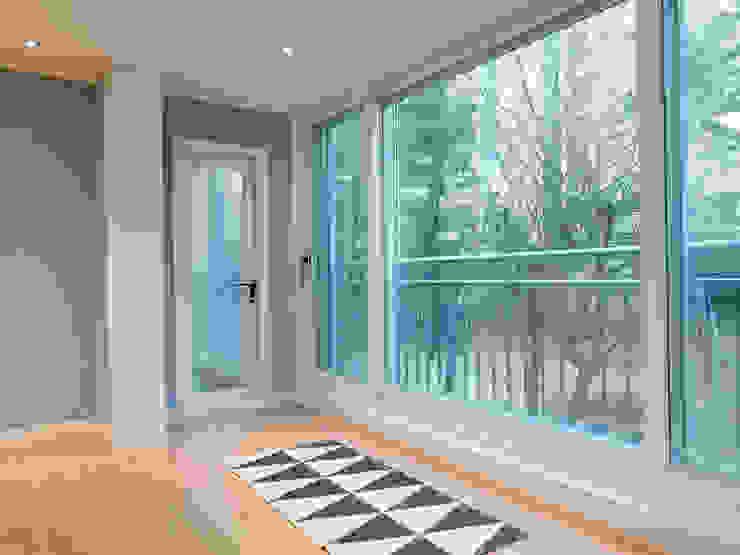 Moderner Balkon, Veranda & Terrasse von 달달하우스 Modern
