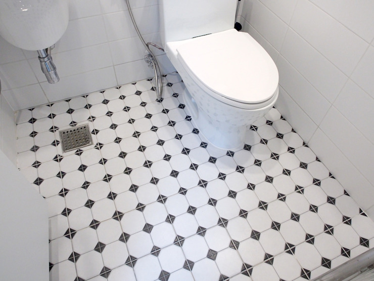 Baños de estilo moderno de 달달하우스 Moderno