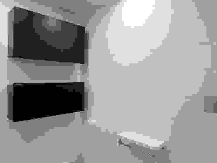남가좌 삼성래미안 리모델링 모던스타일 욕실 by 달달하우스 모던