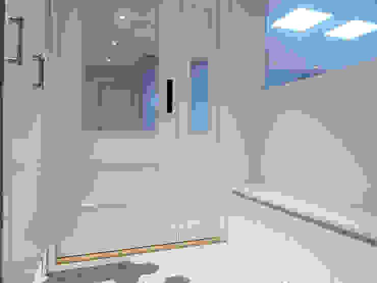 Moderner Flur, Diele & Treppenhaus von 달달하우스 Modern