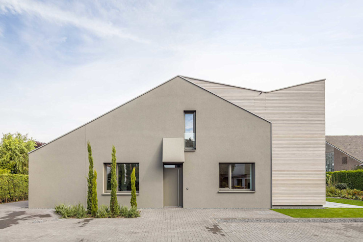 Modern home by ZHAC / Zweering Helmus Architektur+Consulting Modern Wood Wood effect