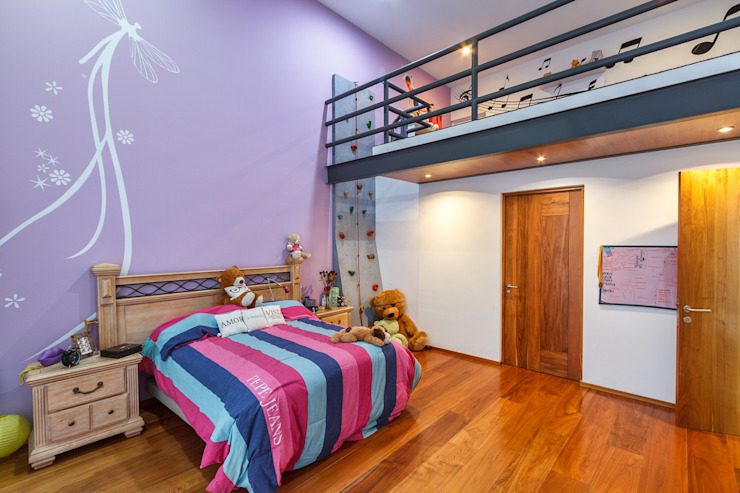 Recámara Infantil Dormitorios infantiles modernos de SANTIAGO PARDO ARQUITECTO Moderno