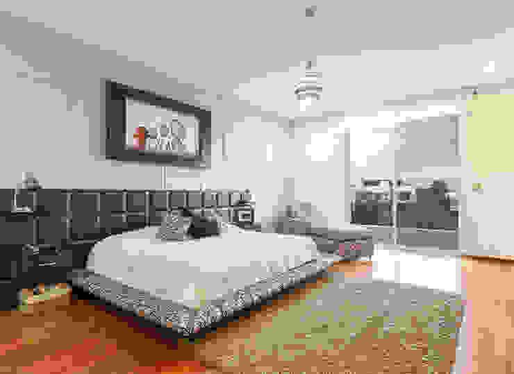 Recámara Principal Dormitorios modernos de SANTIAGO PARDO ARQUITECTO Moderno