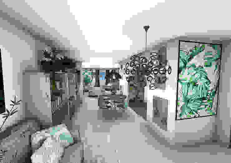 Ingresso, Corridoio & Scale in stile moderno di Crhome Design Moderno