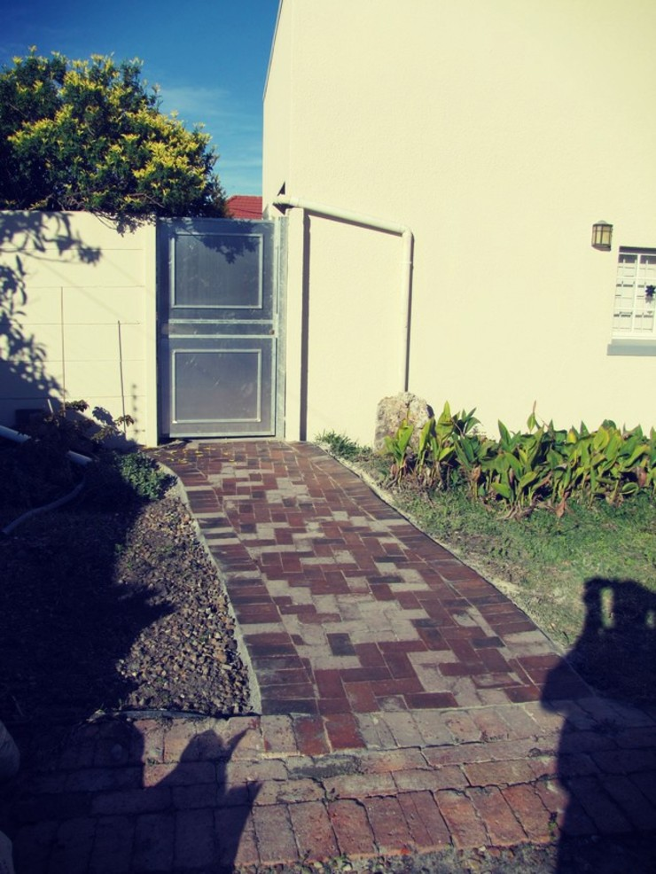 Installed a Brand New Aluminium Door. by CPT Painters / Painting Contractors in Cape Town