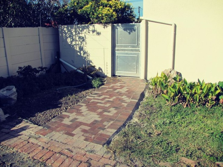 Gate And Pavement Installation by CPT Painters / Painting Contractors in Cape Town