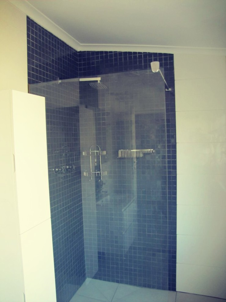 New Shower Installed by CPT Painters / Painting Contractors in Cape Town