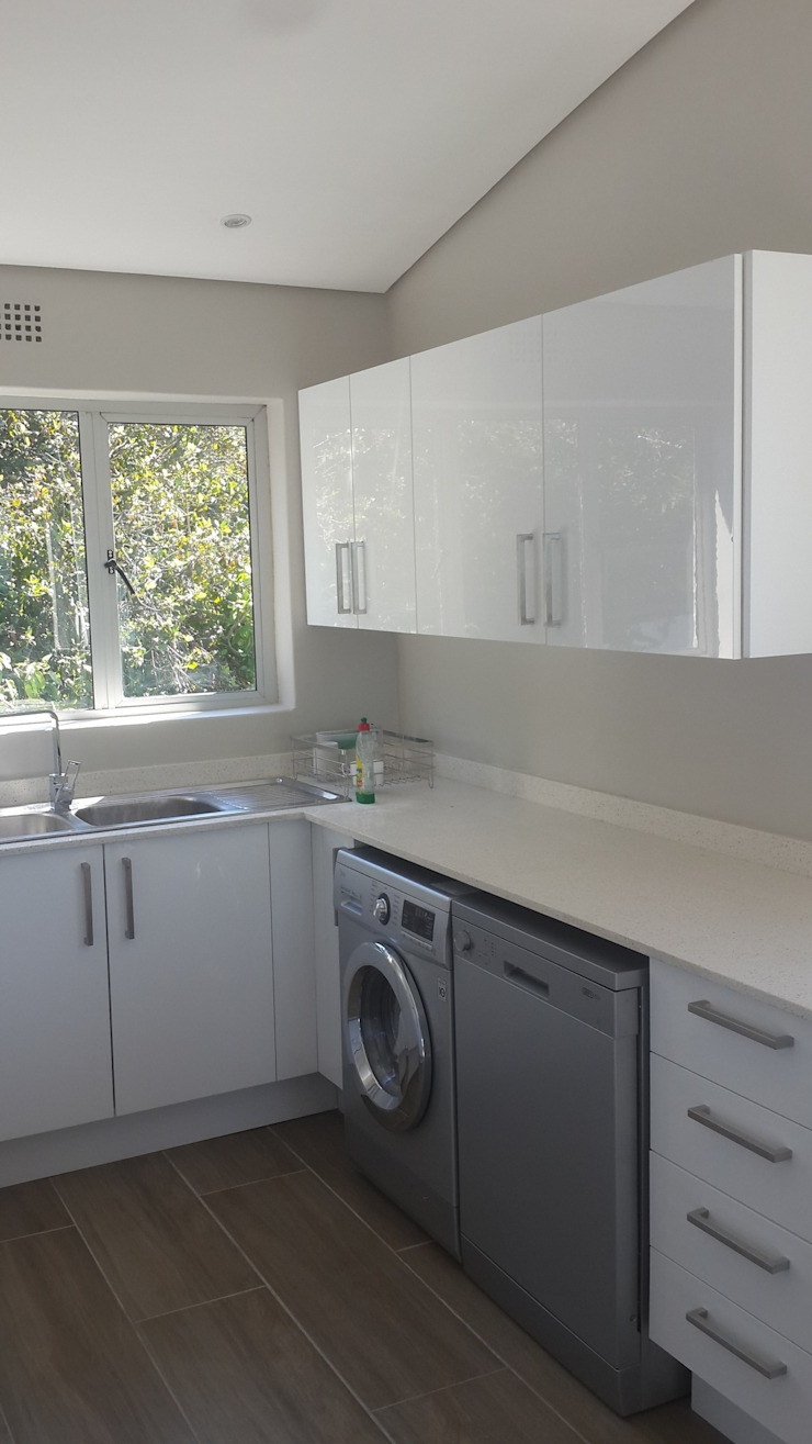 Kitchen Renovation, Remodel + Cupboards Sea Point by CPT Painters / Painting Contractors in Cape Town