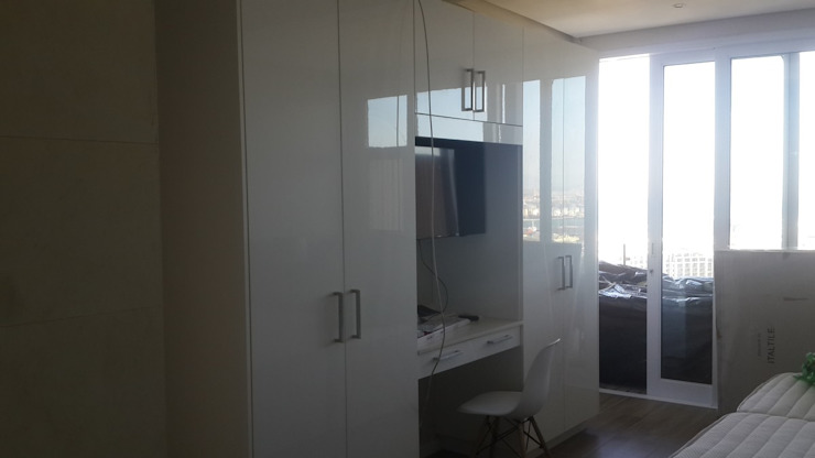 Bedroom Painted And Remodel And Cupboards Sea Point by CPT Painters / Painting Contractors in Cape Town