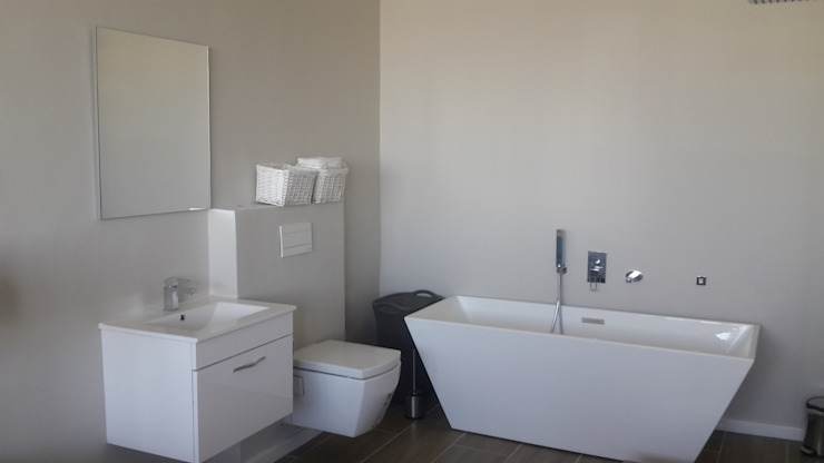Toilet And Bathroom + Bath Tiling And Paint Sea Point by CPT Painters / Painting Contractors in Cape Town