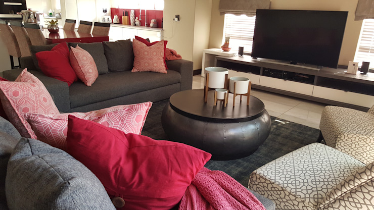 Copperleaf Estate Project Modern Living Room by SOJE Interior, Design and Decor PTY (Ltd) Modern