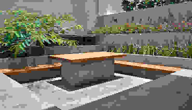 Casa VM Balcones y terrazas minimalistas de Di Vece Arquitectos Minimalista