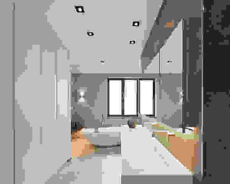 Haus S:  Badezimmer von Klaus Mäs Architektur