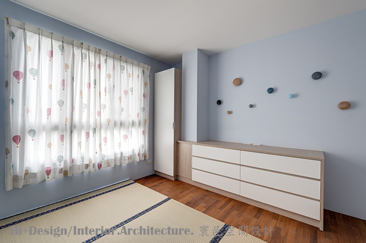 Hi+Design/Interior.Architecture. 寰邑空間設計 Kamar Bayi/Anak Modern