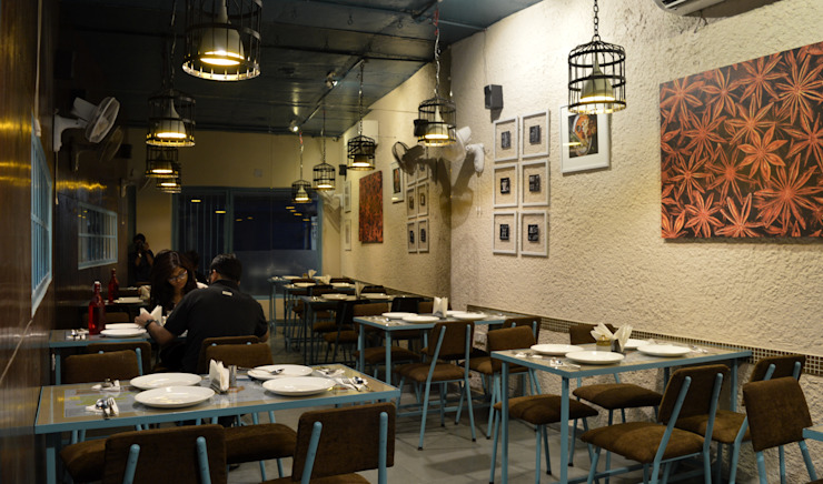 Dine Area Modern hotels by Ashoka Design Studio, Jaipur Modern