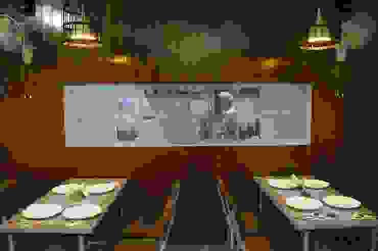 Live Kitchen Window Modern hotels by Ashoka Design Studio, Jaipur Modern