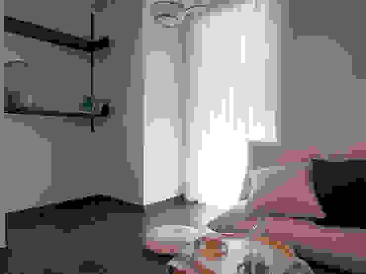 압구정 한양아파트 리모델링 모던스타일 거실 by 달달하우스 모던