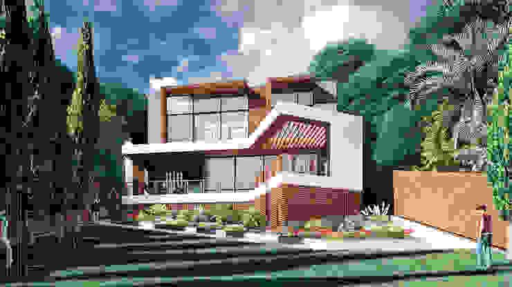 من BOOS architects تبسيطي الطوب