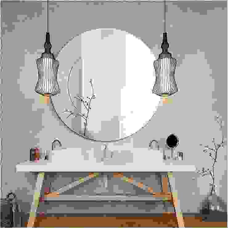 Espejo de baño estilo escandinavo de Centro Espejos Escandinavo