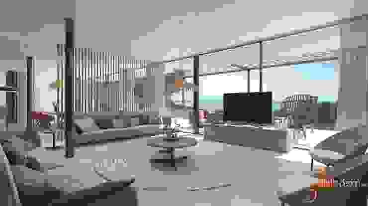 Proyecto 3D Salones de estilo clásico de Realistic-design Clásico