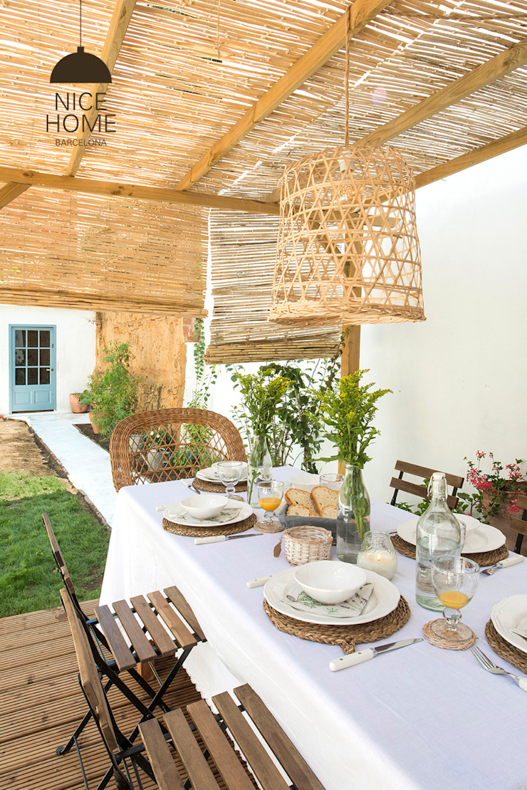 Giardino in stile mediterraneo di Nice home barcelona Mediterraneo