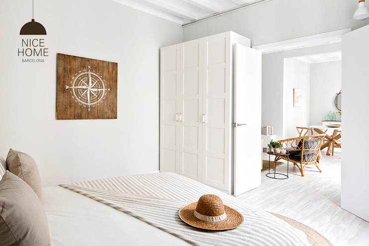 Bedroom by Nice home barcelona, Mediterranean