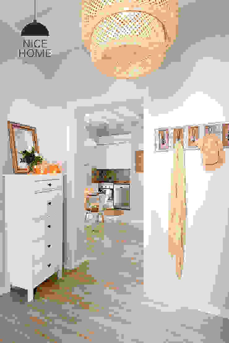 Nice home barcelona Mediterranean corridor, hallway & stairs