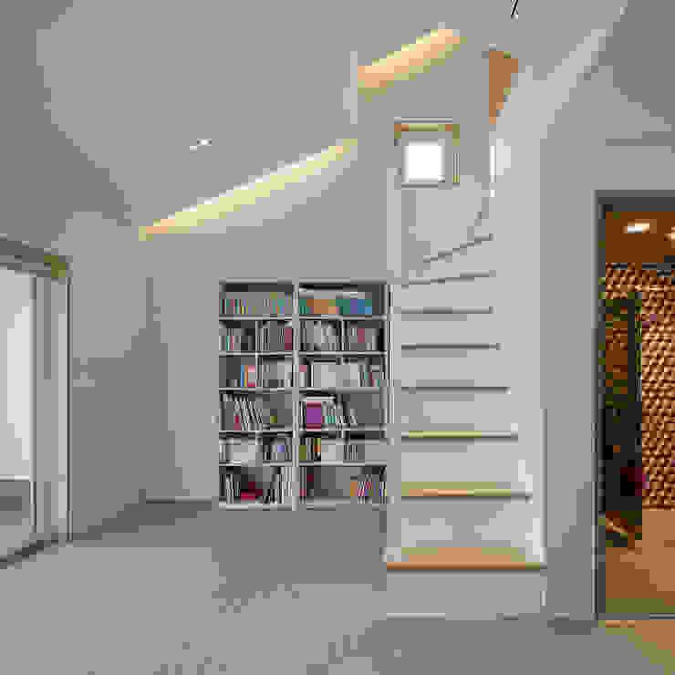 Modern study/office by 소하 건축사사무소 SoHAA Modern