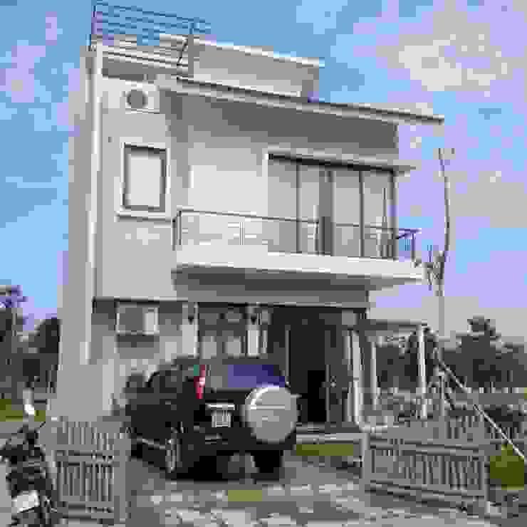TNHH XDNT&TM Hoàng Lâm Casas estilo moderno: ideas, arquitectura e imágenes