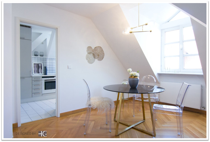 Münchner home staging Agentur GESCHKA Classic style dining room