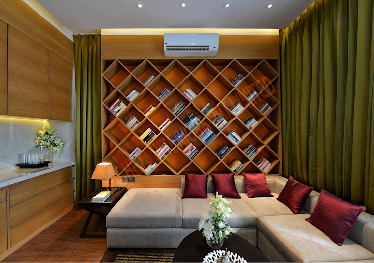 Residence at Pune Modern study/office by Racheta Interiors Pvt Limited Modern