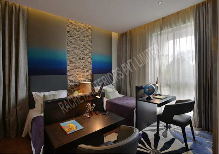 Residence at Pune Racheta Interiors Pvt Limited Teen bedroom