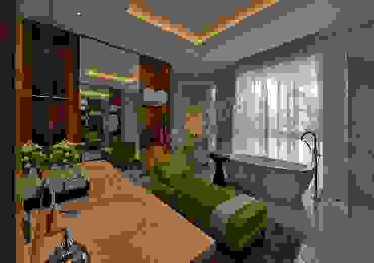 Residence at Pune Modern dressing room by Racheta Interiors Pvt Limited Modern