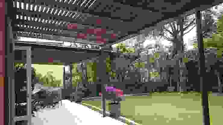 Jardines de estilo mediterráneo de Materia Viva S.A. de C.V. Mediterráneo