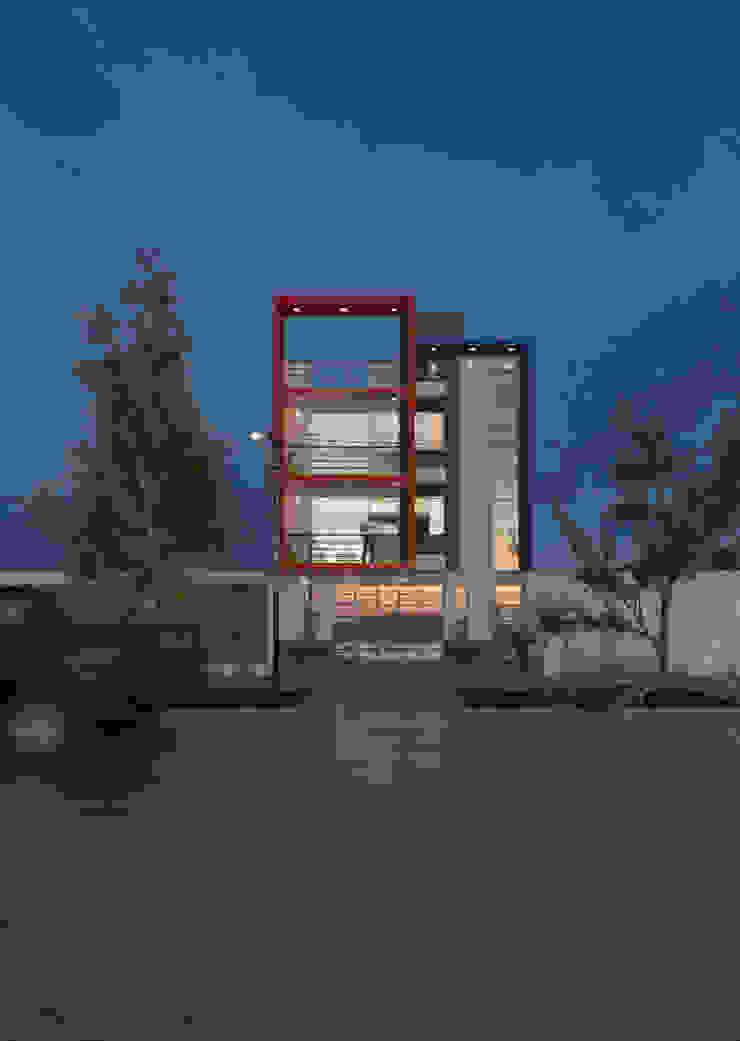 CN y Arquitectos Mehrfamilienhaus Beton