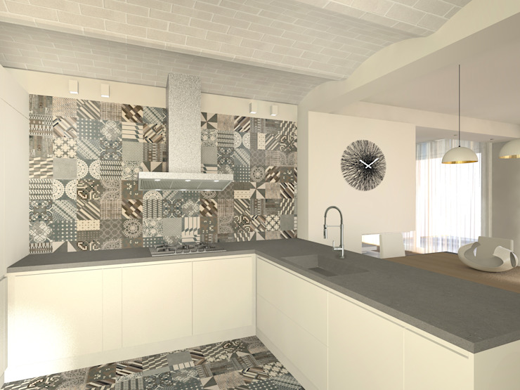 Modern Kitchen by Flavia Benigni Architetto Modern