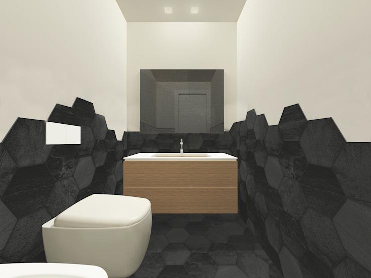 Modern Bathroom by Flavia Benigni Architetto Modern